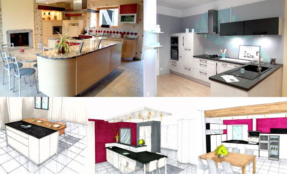 Cuisine Meuble Sur Mesure Agencement Decoration D Interieur