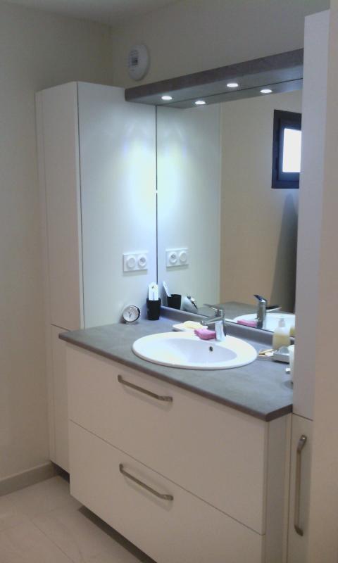Aménagements salle de bain sur-mesure,Armoire de rangement + meuble coulissant, Bain de Bretagne, Ille et vilaine